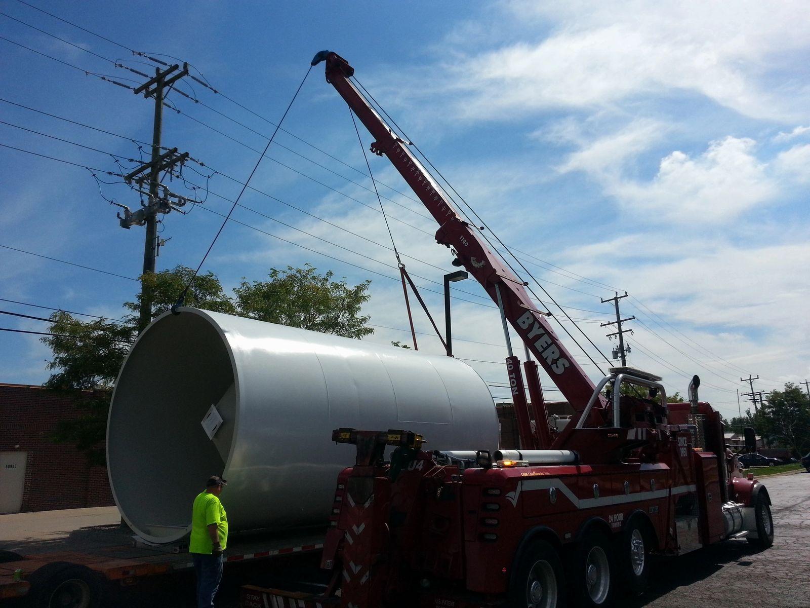 Bulk Resin Unloading System