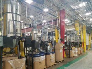 Plastic Material Handling Equipment Installation