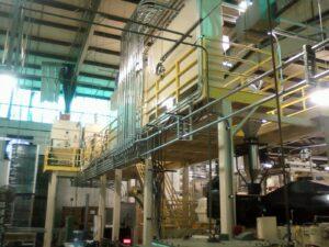 Material Handling System Installation